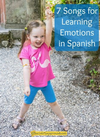 These Spanish feelings songs teach kids important words related to emotions and moods.