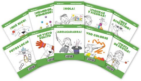 Language Together publishes this fabulous set of books for kids learning Spanish.