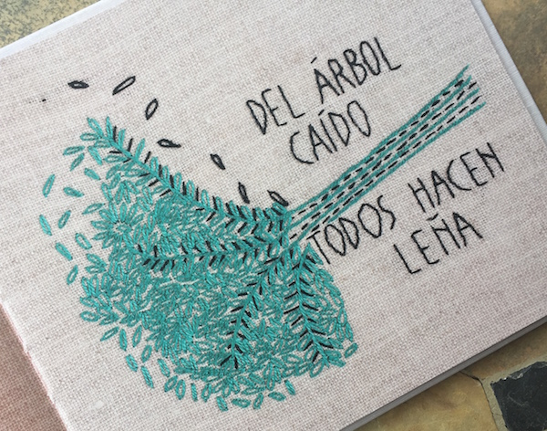 Children learn language and culture from this book for Spanish proverbs.