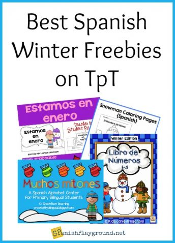 These free Spanish winter activities use language in context at a variety of levels.