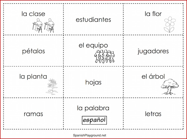 Play these Spanish sentence building games to practice the verb tener.