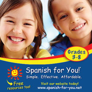 Spanish for You Curriculum for classroom or homeschool elementary Spanish.