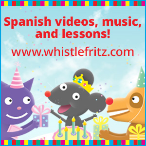 Spanish videos, music and lessons for kids.