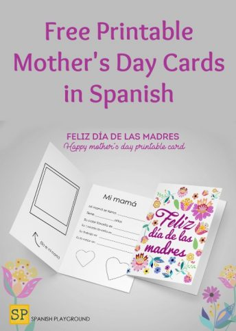 Use these printable Mother's Day cards in Spanish with language learners and native speakers.