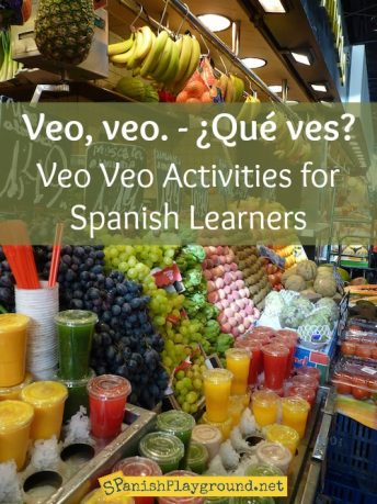 The Veo veo song teaches Spanish letter sounds and vocabulary in the context of a traditional game.