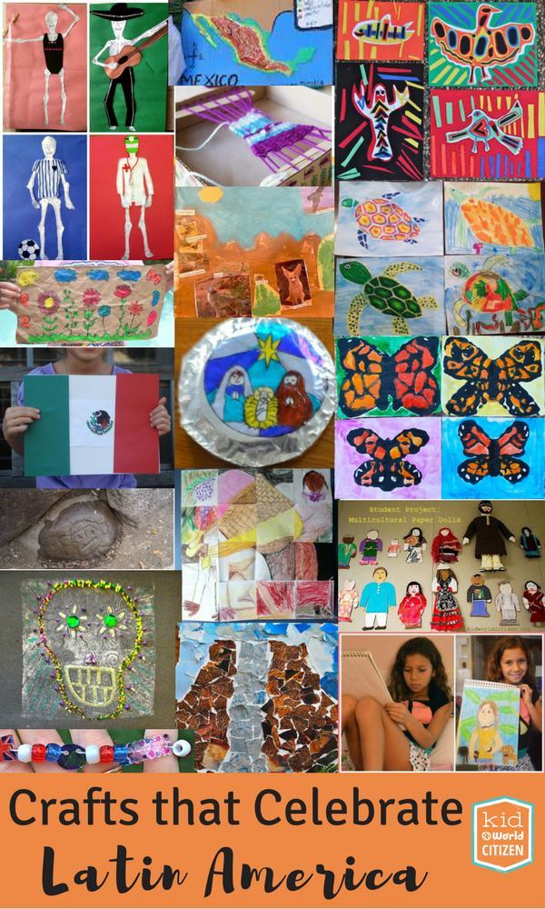 Students engage with language and culture with these Latin American crafts for Spanish class.