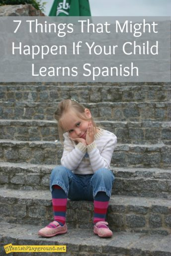 If a child learns Spanish at a young age there are social and academic benefits.