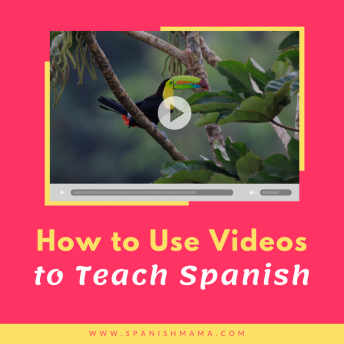 Tips for how to use video to teach Spanish at different levels.