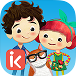 Peg and Pog is a Spanish learning app for kids that encourages creative play.