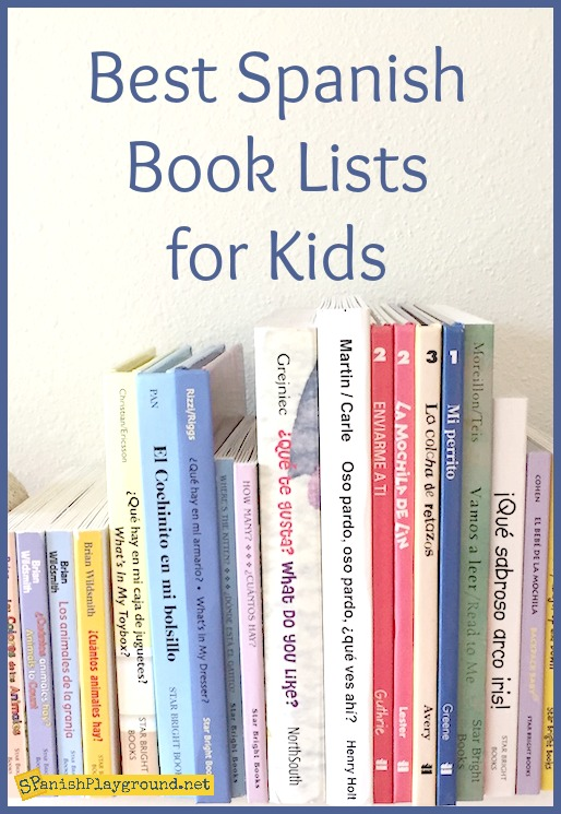 Teacher and parents can use these Spanish book lists for kids to find new books.