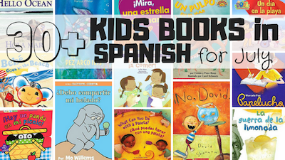 Themed Spanish book lists for kids make it easy to find new titles for different ages.