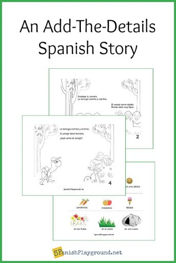 Use this Spanish story for beginners PDF to engage kids with everyday vocabulary.