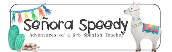 Elementary Spanish blogs like Señora Speedy are good sourse of support for teachers.