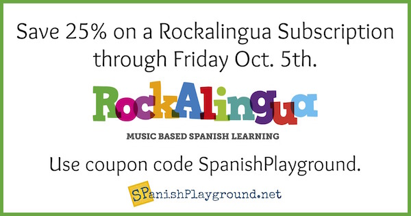 Spanish vocabulary songs for elementary themes teach new langauge in context.