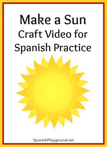These Spanish videos for kids show how to do arts and crafts.