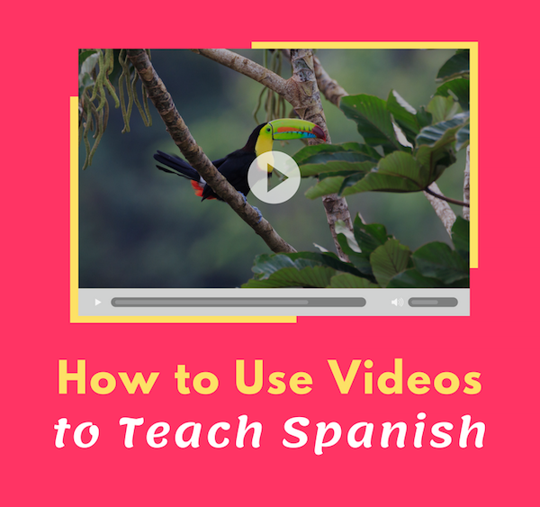 Use these strategies for teaching with Spanish videos for kids.