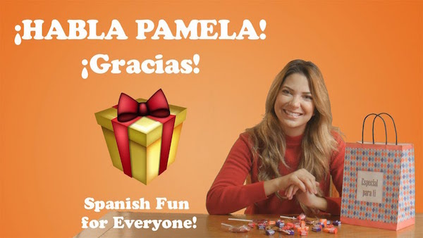 Kids learn Spanish words for giving thanks in this Habla Pamela video.