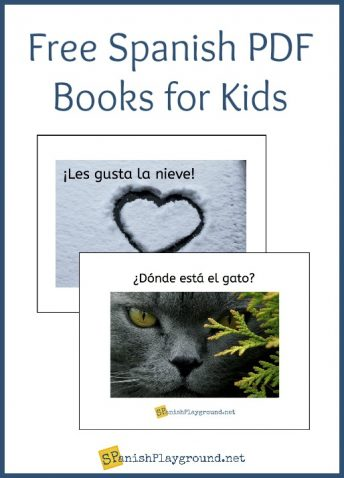 These free Spanish PDF books for kids use simple sentences and common vocabulary.