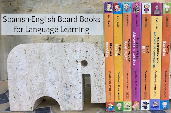 Spanish board books are important learning tools for young children.