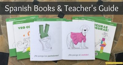 Books from Langauge Together come with lesson plans and fit into any elementary Spanish curriculum.