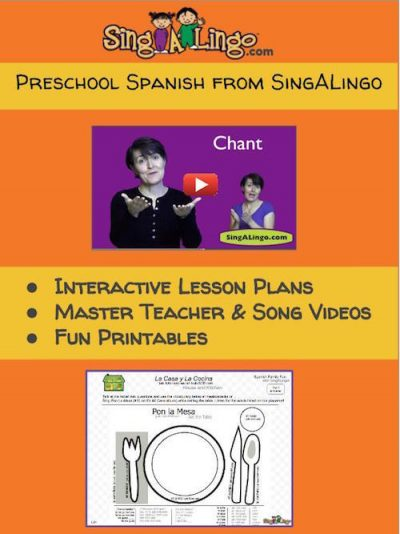 Singalingo is a preschool or elementary Spanish curriculum for the early grades.