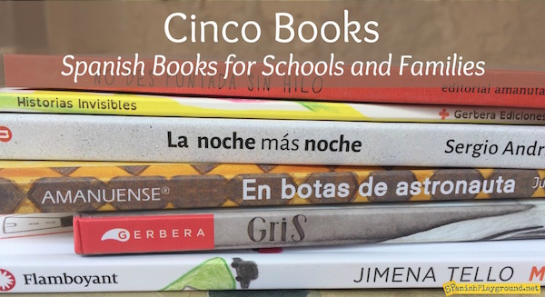 Cinco Books distributes Spanish books for kids in the United States.