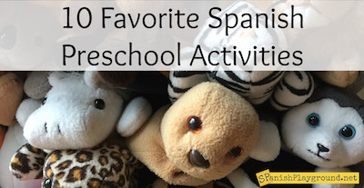 Preschool is an excellent time to start to teach kids Spanish.
