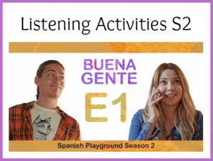 Use this Spanish video series wtih middle or high school classes.