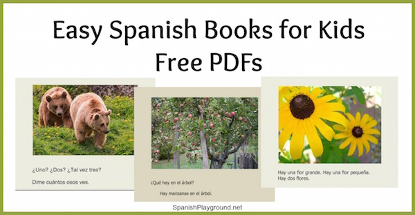 These 5 free printable Spanish books inroduce kids to easy words in complete sentences.
