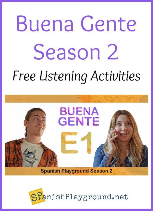 Use these Spanish shows for learning Spanish vocabulary and listening skill in middle or high school classes.