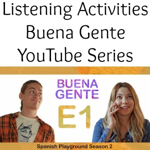 Learn Spanish Video series on YouTube for class or home.