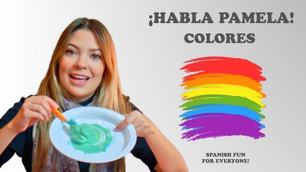 Use this video to learn colors in Spanish and do a hands-on mixing activity.