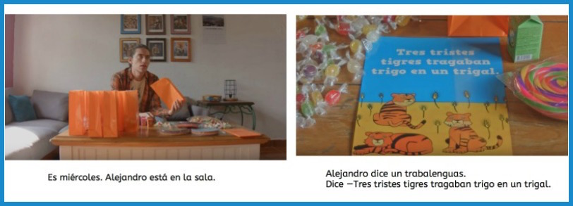 Use this Spanish ebook in middle school or high school classes.