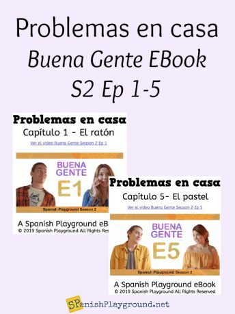 Spanish ebooks based on the Buena Gente video series.