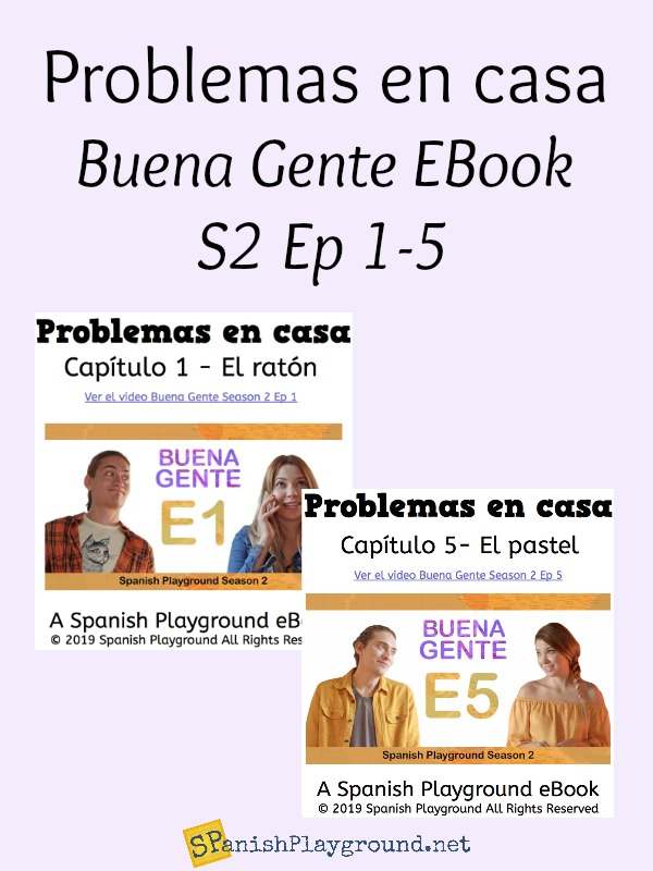 Spanish ebooks based on the Buena Gente video series.