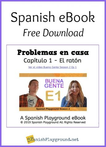 Spanish ebooks for middle and high school students provide comprehensible input.