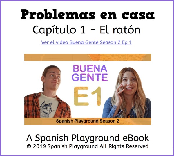 Spanish ebooks provide students with repetion and exposure to target structures.