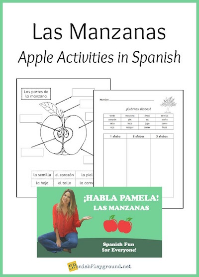 Spanish science lessons about plants reinforce language skills and science concepts.