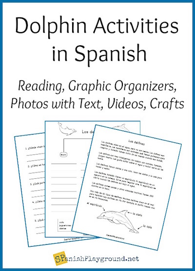 Use Spanish science lessons to connect language to content about animals and plants.