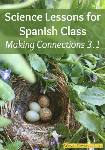 Spanish science lessons connect language to important math and science concepts.