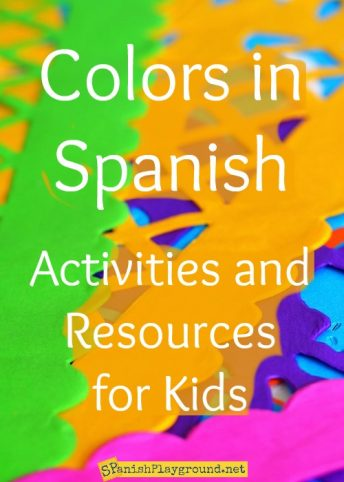 Use these activities to learn Spanish for kids colors and other basic vocabulary.