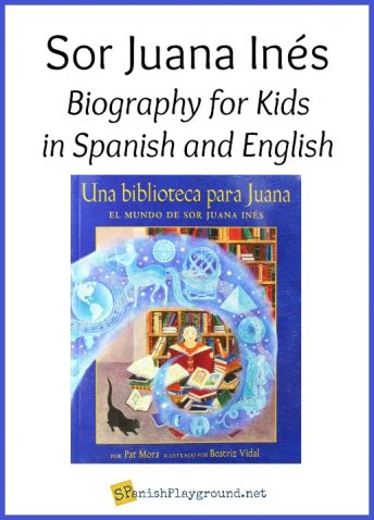 This biography in Spanish of Sor Juana Inés introduces children to Mexican culture.