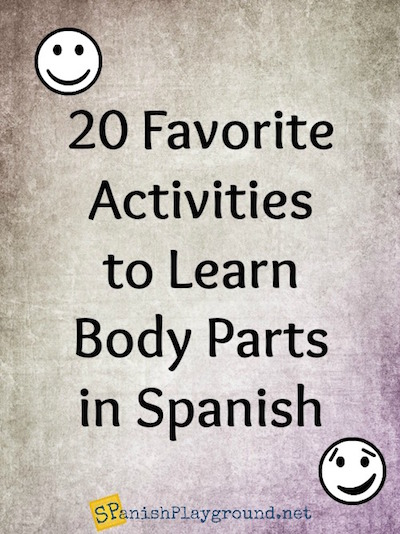 Learn body parts with songs, videos, games, activities and books.