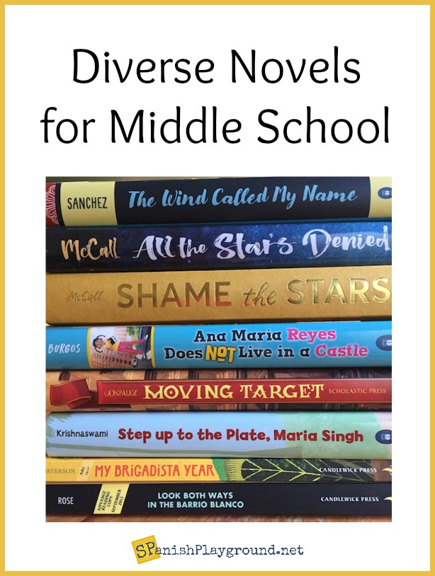 These diverse books from middle school introduce students to latino culture.