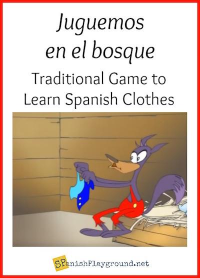 Juguemos en el bosque is a traditional game similar to tag.