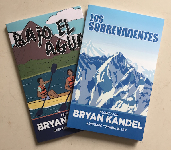 Spanish readers by Bryan Kandel create comprehensible input for language learners.