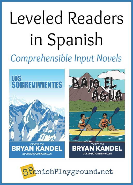 Spanish readers tell compelling stories with high-frequency language.