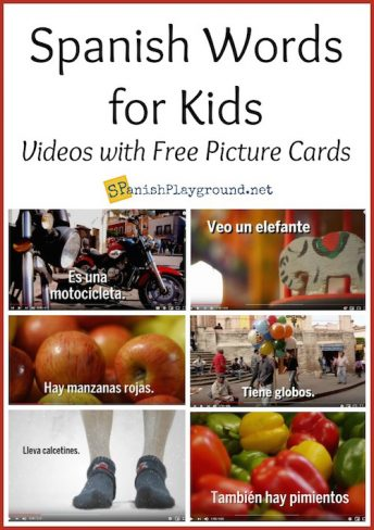 These six videos present Spanish words for kids in context and with images of Mexico.