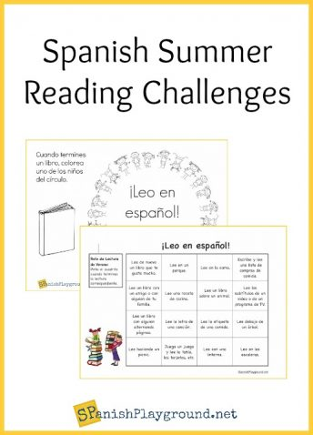 Spanish reading challenges engage kids with books during the summer months.