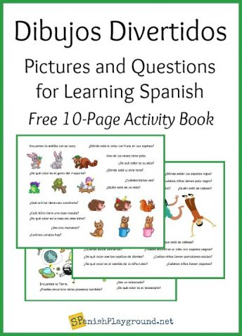 Use this 10 page PDF of Spanish question words practice activities with language learners or native speakers.